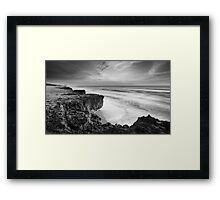 Broken Earth Framed Print