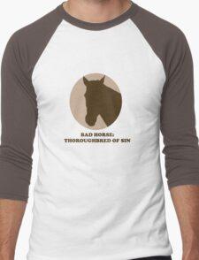 Thoroughbred of Sin Men's Baseball ¾ T-Shirt