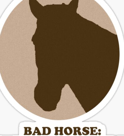 Thoroughbred of Sin Sticker
