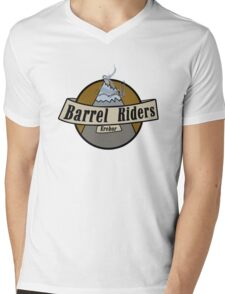 Erebor Barrel Riders Mens V-Neck T-Shirt