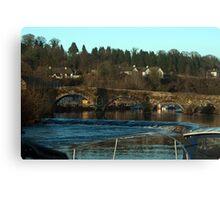 Graiguenamanagh bridge Kilkenny Ireland Canvas Print