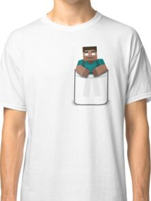 Minecraft: Pocket Herobrine Classic T-Shirt