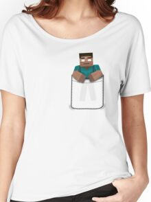 Minecraft: Pocket Herobrine Women's Relaxed Fit T-Shirt
