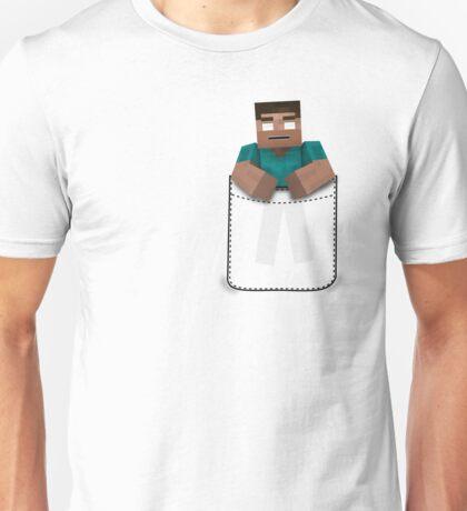 Minecraft: Pocket Herobrine Unisex T-Shirt