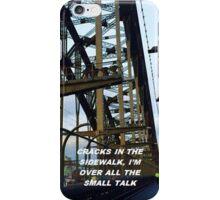 """Cracks in the sidewalk"" iPhone Case/Skin"