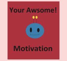 Motivation! One Piece - Short Sleeve