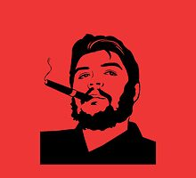 Che Guevara cigar smoking iPhone case by CigarInspector