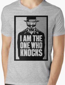 """""""I Am The One Who Knocks"""" Mens V-Neck T-Shirt"""