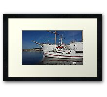 The harbour Framed Print