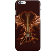 Vampir Guitar iPhone Case/Skin