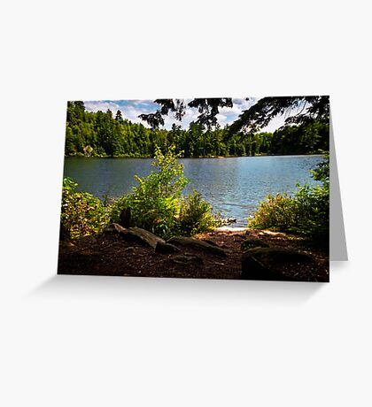 Camping Location Greeting Card