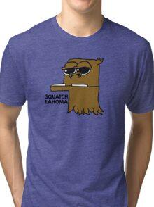 SQUATCHLAHOMA Tri-blend T-Shirt