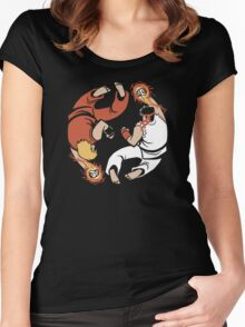 Super Yin Yang Women's Fitted Scoop T-Shirt