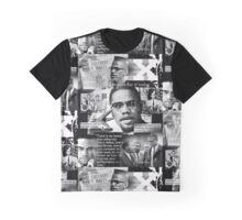 malcom x Graphic T-Shirt