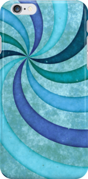 iPhone Swirls by Anita Pollak