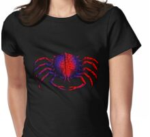 Color Crab Womens Fitted T-Shirt