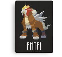 Entei - Pokemon Canvas Print