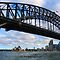 Photos taken on Sydney Harbour from a boat