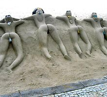 SAND ART, RIO de JANEIRO, BRAZIL by JAYMILO