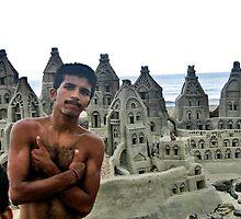 SAND ART BY PAT AND MUNDO, RIO de JANEIRO, BRAZIL by JAYMILO