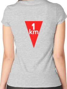 Flamme Rouge  Women's Fitted Scoop T-Shirt