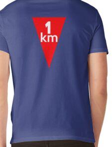 Flamme Rouge  Mens V-Neck T-Shirt