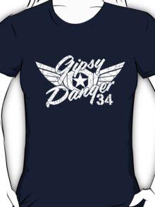 Gipsy Danger White Faded T-Shirt