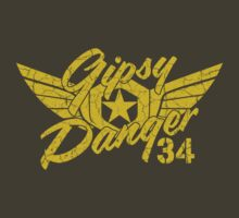 Gipsy Danger Faded Military Style by AngryMongo
