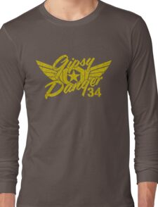 Gipsy Danger Faded Military Style Long Sleeve T-Shirt