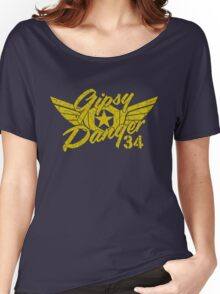 Gipsy Danger Faded Military Style Women's Relaxed Fit T-Shirt