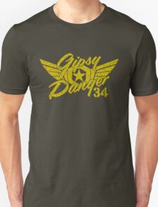 Gipsy Danger Faded Military Style Unisex T-Shirt