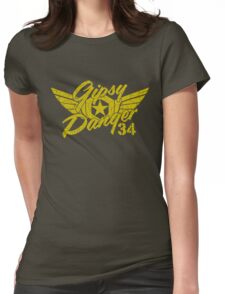 Gipsy Danger Faded Military Style Womens Fitted T-Shirt