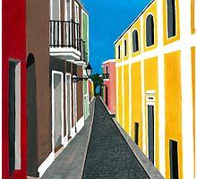 "Viejo San Juan by Myriam ""Lisy""  Velazquez"