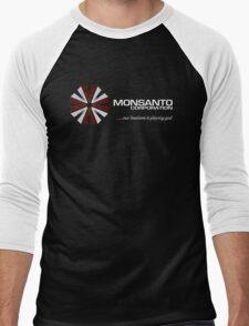 Corporate Evil Men's Baseball ¾ T-Shirt