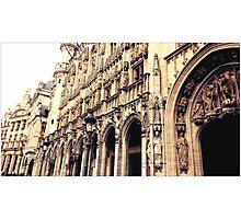 brussels belgium Photographic Print