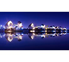 Thames Flood barrier Photographic Print
