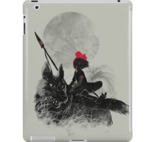 princess monokiki iPad Case/Skin