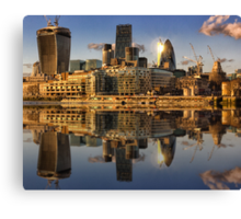 Thames View london Canvas Print