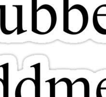 Nitwit, Blubber, Oddment, Tweak Sticker