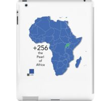 Willy de African Uganda Love for the +256 iPad Case/Skin