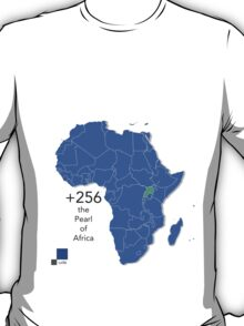Willy de African Uganda Love for the +256 T-Shirt