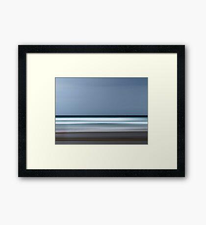 Keep your eye on the Horizon Framed Print