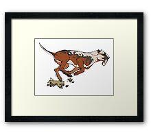 Thylacosmilus Framed Print