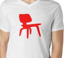 Eames Lounge Chair Wood Mens V-Neck T-Shirt