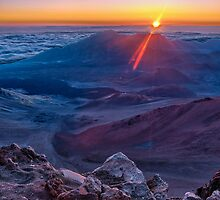 Haleakala Sunrise by mikewheels