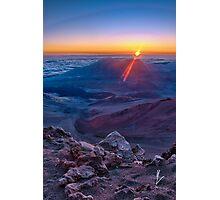 Haleakala Sunrise Photographic Print