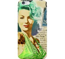 Vintage Pinup Girl Phone Cover iPhone Case/Skin