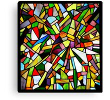 Abstract Window Canvas Print