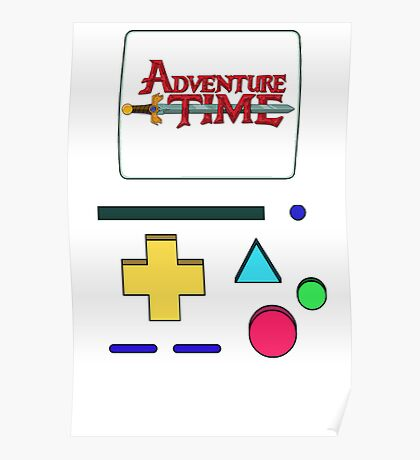 Adventure Time BMO Poster
