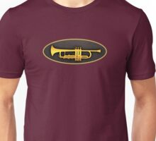 Golden Trumpet Oval Unisex T-Shirt